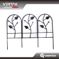 Professional sales team innovation decorative metal garden edging fencing