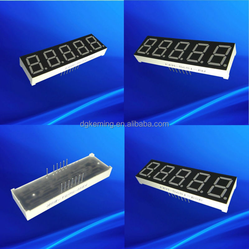 7 segment led display 0.56 inch single color common anode