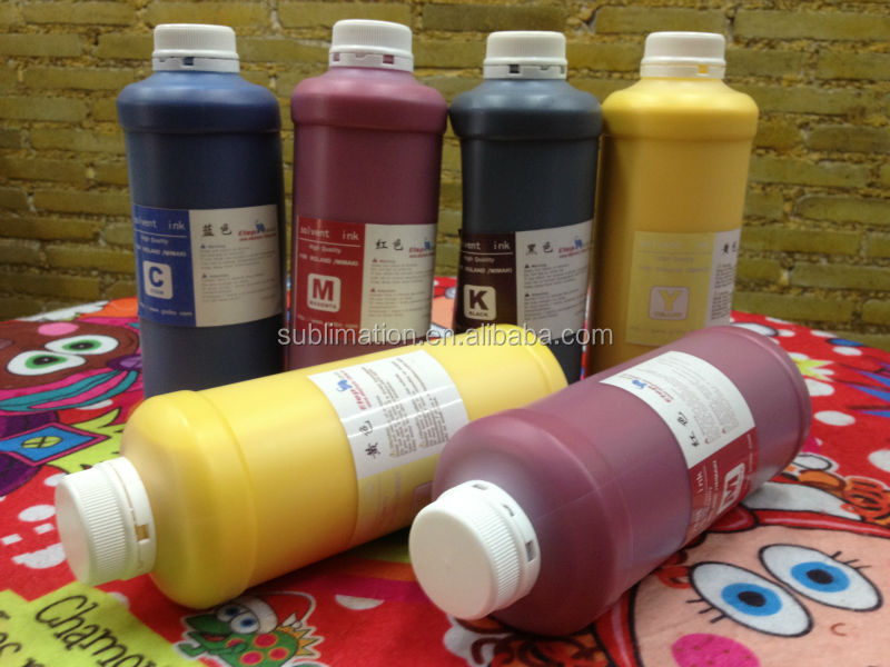 Cheap colorful eco solvent ink for epson printer