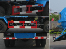 Dongfeng 7.87 cubic meters sewage suction truck for sale