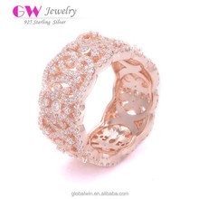 Fashion Accessories Gemstone Jewellery Weight Of Gold Hollow Ring