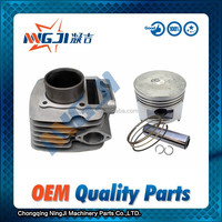 Motorcycle Parts ,Engine Parts ,High Quality Motorcycle Cylinder kit use for Honda CGL100; 50 mm Diameter ,Hot Sell.