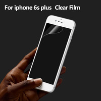 Professional mobile accessories Japan PET clear screen protector for iphone 6 plus