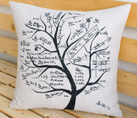 2015 China factory supplies alibaba selling well high quality letter 100% cotton Fashion Decorative Pillow Custom Print Pillow