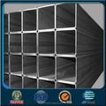 negro tubo cuadrado o el tubo y tubo cuadrado de acero que hace la máquina