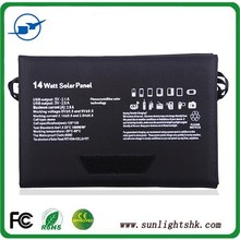 Multi-Functional 14w Mini Laptops Notebook Mobile Phones Solar Pannel for iphone ipad