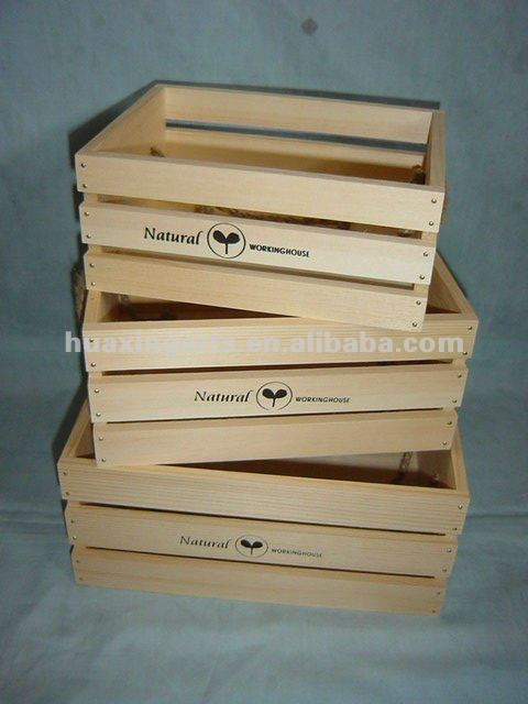 Wholesale wooden crate wooden fruit crates for Buy wooden fruit crates