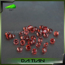 High Quality Natural Faceted Round Wholesale Mozambique Garnet supplier