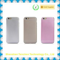 Newest Ultra Thin Full Metal Aluminum back housing for iphone 6 metal case