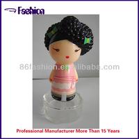 perfume bottle cap of sex woman
