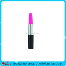 promotional plastic novelty lipstick ballpoint pen