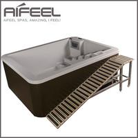 Fiberglass good quality hydro massage hard plastic dog pool,dog swimming pools