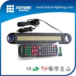 7*50 red dot- matrix led moving sign DC24V LED display