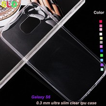 0.3mm clear ultra case for samsung galaxy s6