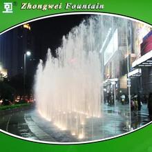 Musical Outdoor Fountain