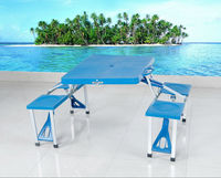 Cheap ABS Folding Camping Table with Chair