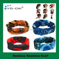 2015 hot selling custom seamless silk head wrap