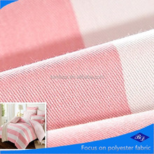 comfortable colourful and luxury bedding fabric/ peach skin with printed fabric/polyester peach skin fabric for bedding