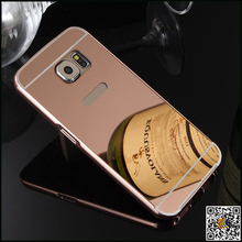 For samsung S6 acrylic mirror plate, for samsung s6 back housing