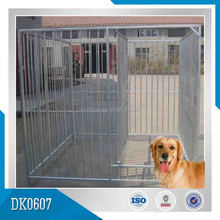 1.84m high hot dipped galvanized steel dog house, modular dog kennel