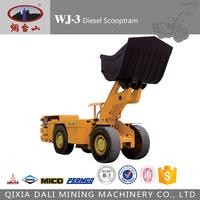 china made diesel underground mining articulated 4x4 mini wheel loader