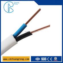 house decoration BVVB copper-core PVC flat cable