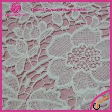 Wonderful Surprise White Luxury Emboridery Swiss French Lace Fabric