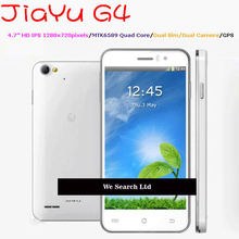 "Jiayu G4 MTK6589 Quad Core 3G Mobile Phone 4.7"" IPS 1280x720 Android 4.2 Dual Camera"
