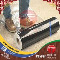 pe clear adhesive plastic film for carpet