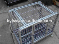Single Square tube dog cage/double layer dog cage/three dog cage