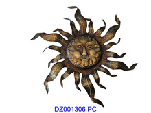 Sun Metal Wall Art Decor