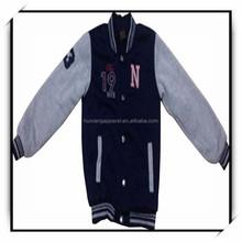 garment factory new design cheap varsity jacket wholesale