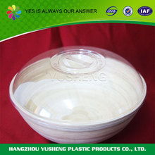 Plastic food packing transparent disposable salad container