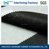 qualified polyester garment accessories adhesive non woven fabric interfacing fabric(3040) with SGS