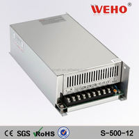 High frequency power supply 500W 40A 220v/12v led switching power supply