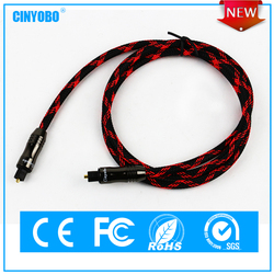 Hot sale cable with toslink connector for multimedia devices