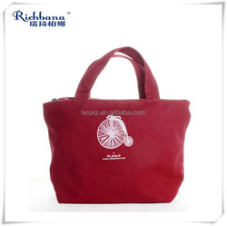 small canvas tote bags wholesale lunch bag