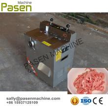 Acero inoxidable cortador de carne eléctrico / de pechuga de pollo máquina de corte / carne máquina de corte en tiras
