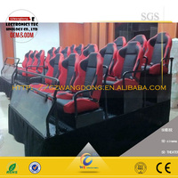Attractive Motion Simulator 5D 6d 7d XD Cinema 5d projector cinema made in china