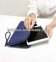 high quality with high grade pu leather book charming laptop case
