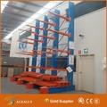 industrial tubo vertical para rack de aço tubulação do sistema de armazenamento