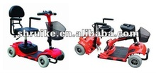 US FDA EMC Approved Handicapped Folding & Detachable Cheapest Light Weight Travel Electric Mobility Scooter With PG controller