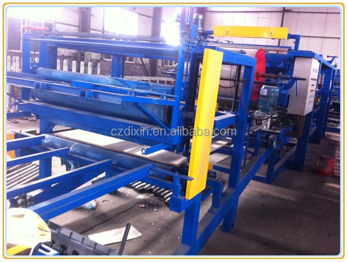 Eps Sandwich Panel Machine : Eps sandwich panel production line machine view