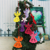 2015 Newest High Quality Angel Christmas Tree Decoration Pendant Hanging Xmas Party Gifts Ornament Christmas Hom Decorations