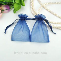 "3""*4"" high quality and good price organza drawstring gift bag"