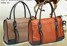 Fashion designer leather handbag for lady, with tassel