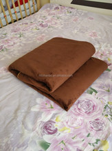 manufacter 100% organic cotton 2014 safe and warm electric blanket