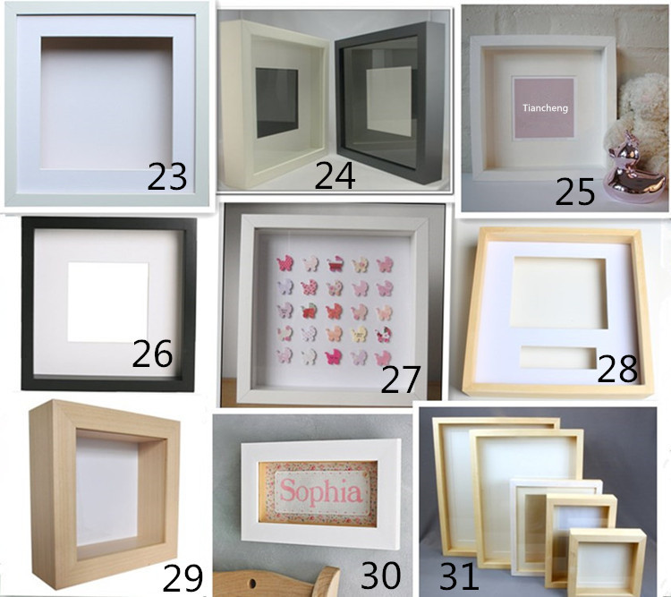 30x30cm Deep Frame / 4x4 Frame / Painting Frame Wood Moulding - Buy ...