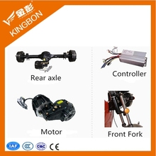 Kingbon cargo and passenger tricycles made in china electric rickshaw spare parts