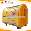Mobile taco truck ice cream vending tricycle noodle boiler for sale